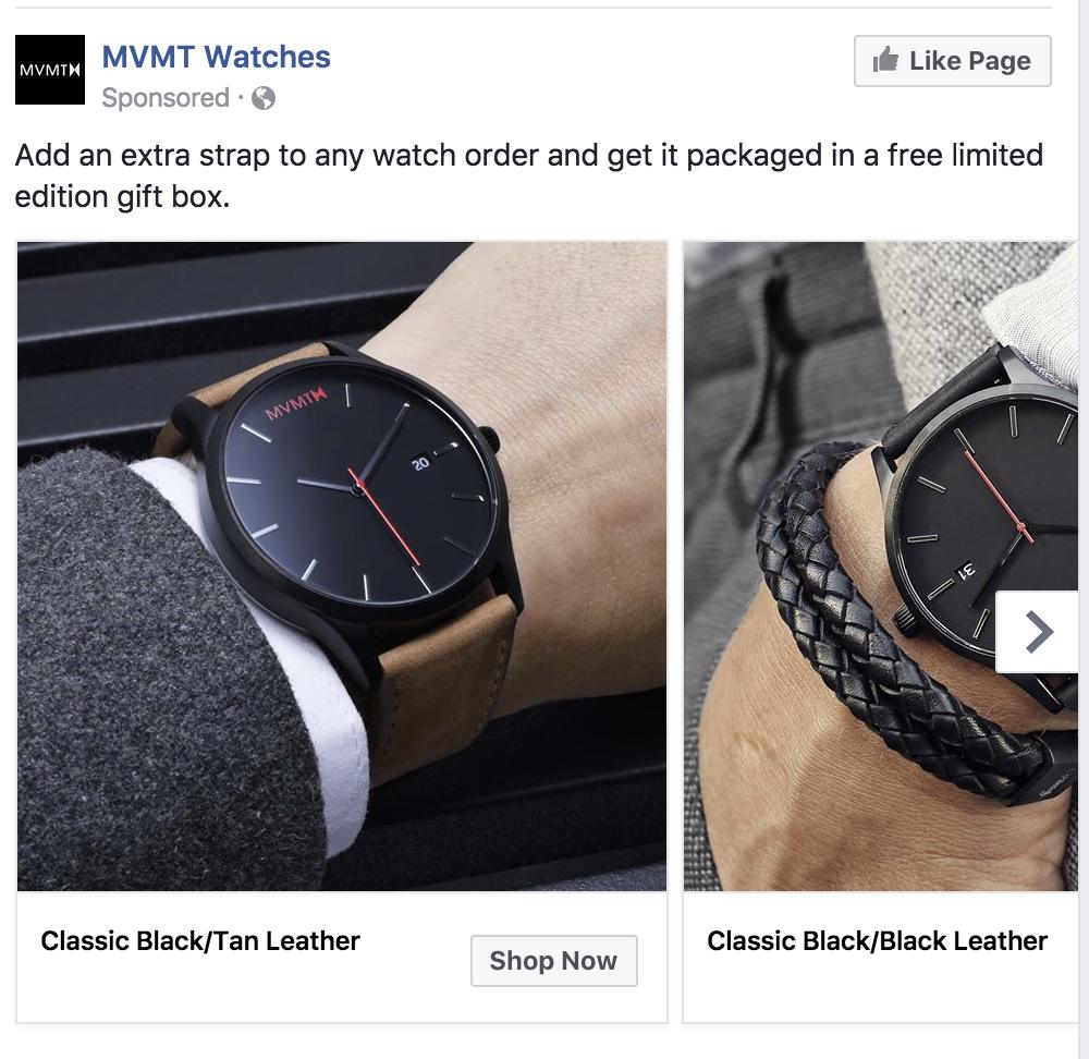 facebook marketing product catalog retargeting